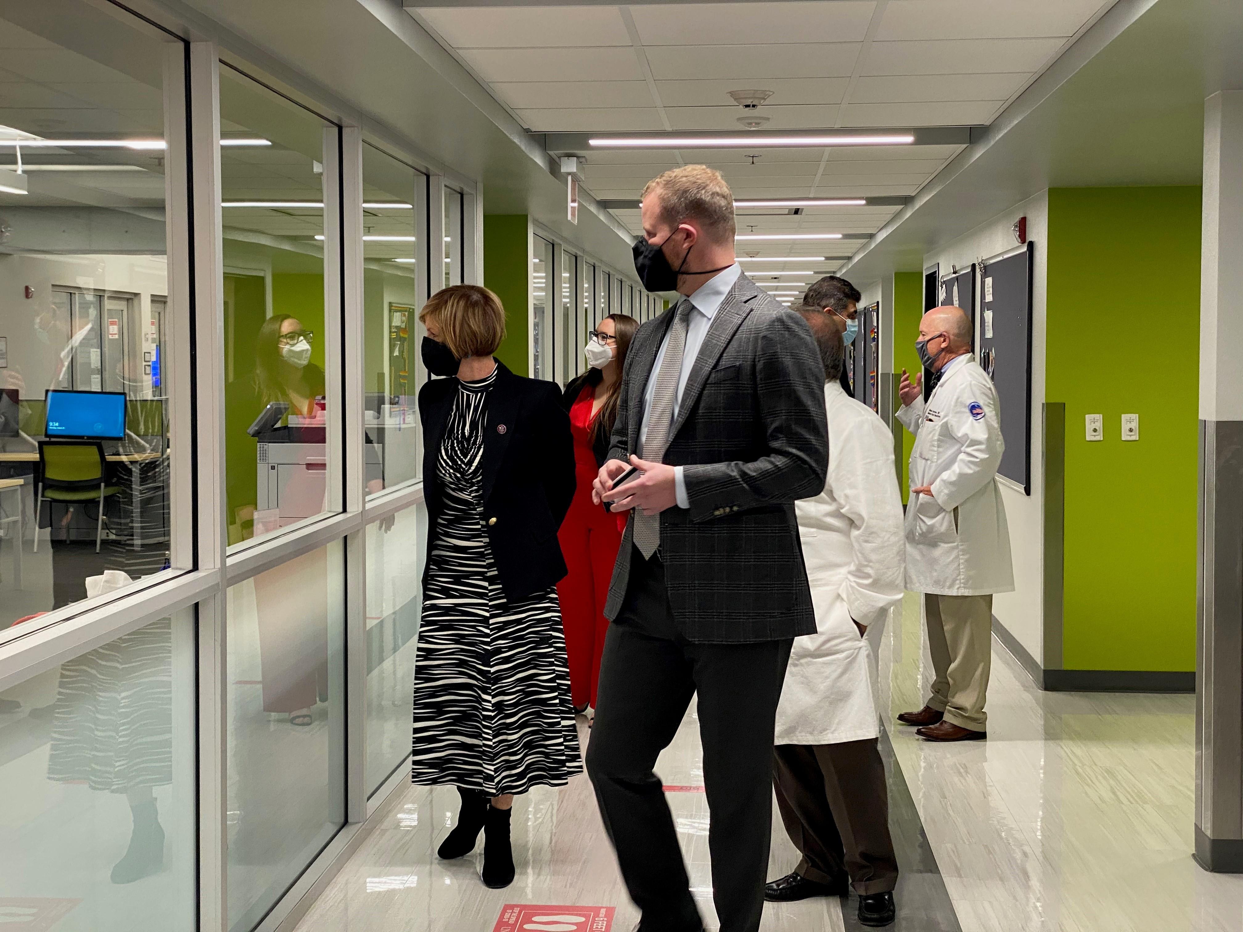 Rep. Susie Lee Visiting UNLV School of Medicine