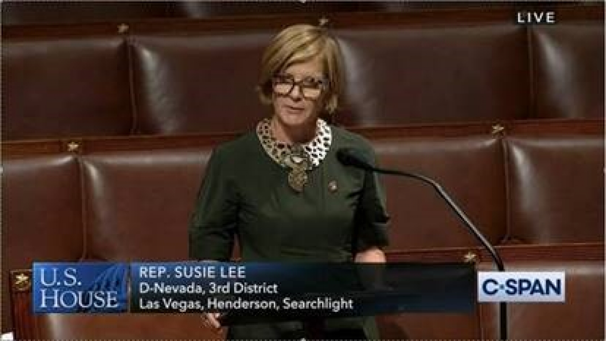 Rep. Lee Speaking on House Floor