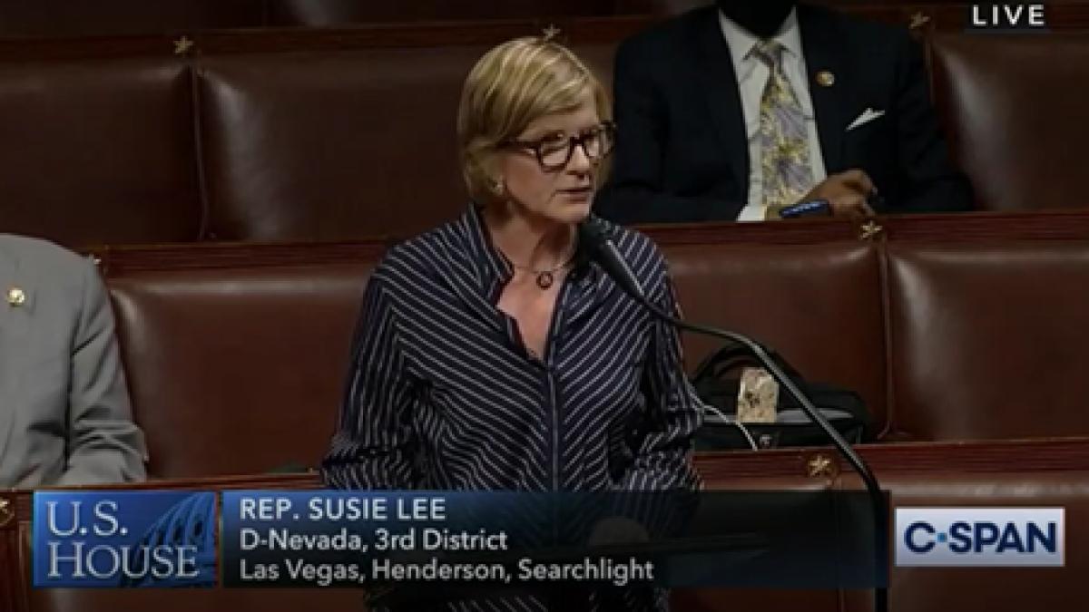 Floor speech on Great American Outdoors Act.