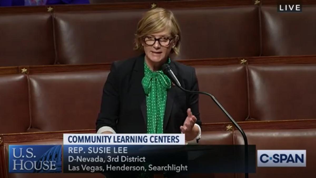 Rep. Lee Delivering Floor Speech